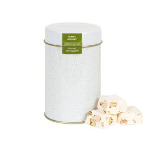 Almonds and Pistachio White Nougat box