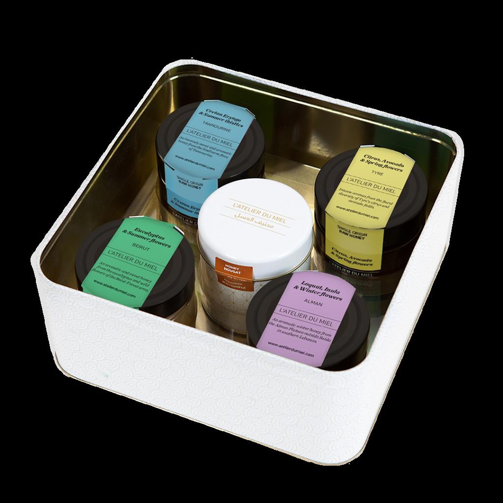 four seasons of the mediterranean - artisan honey from l'atelier du miel