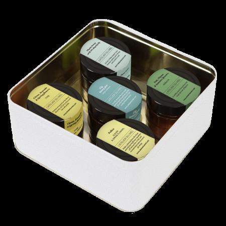 healthy set of the mediterranean - artisan honey bundle from l'atelier du miel